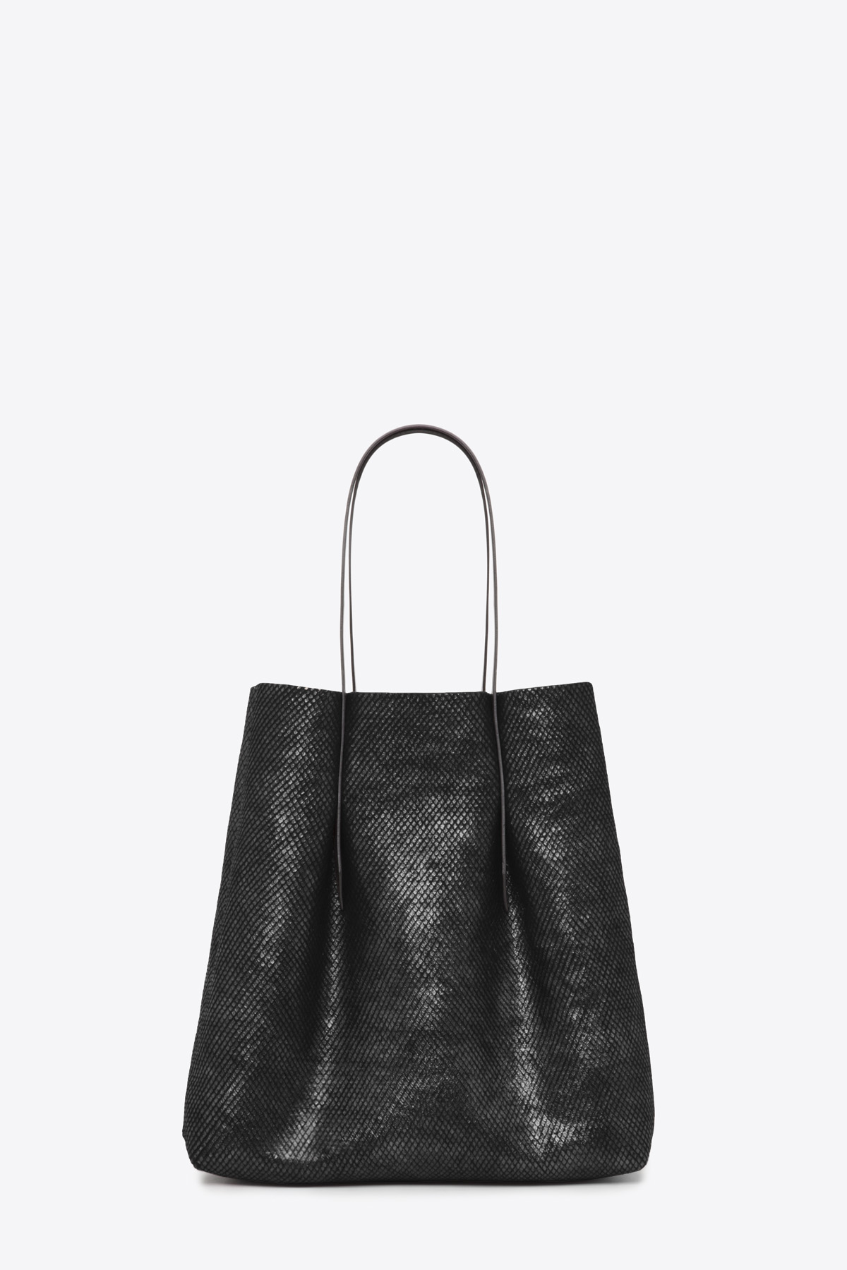 dclr006-shoppingbag-a23-backsnakeblack-front