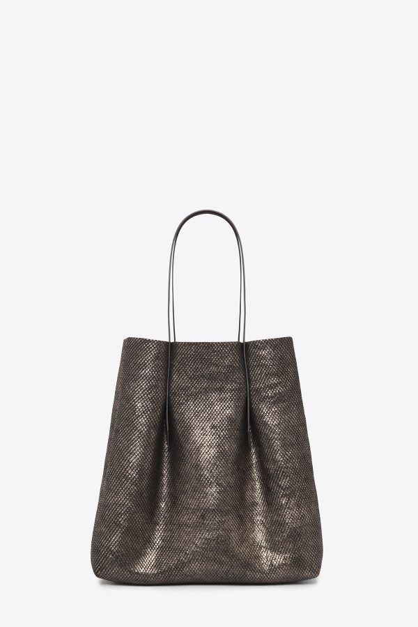 dclr006-shoppingbag-a24-backsnakebronze-front