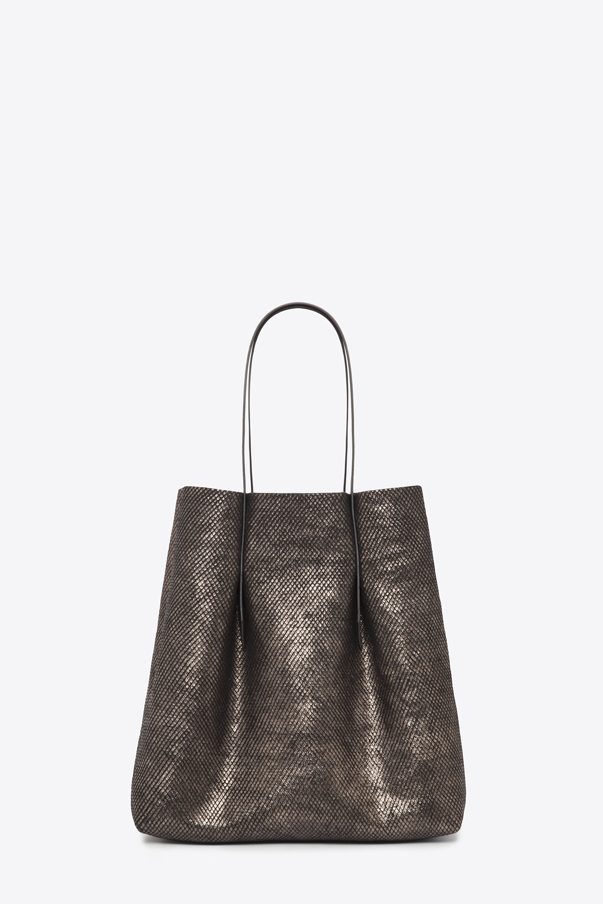 dclr006-shoppingbag-a24-backsnakebronze-front