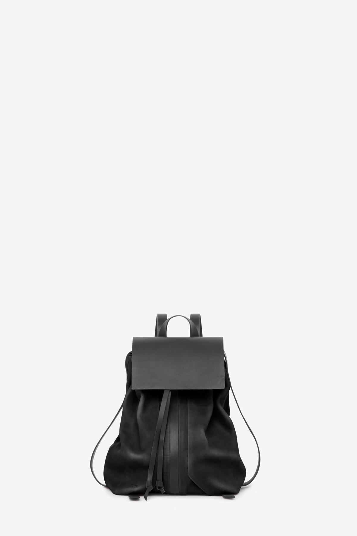 dclr009-b-backpack-a1-black-front