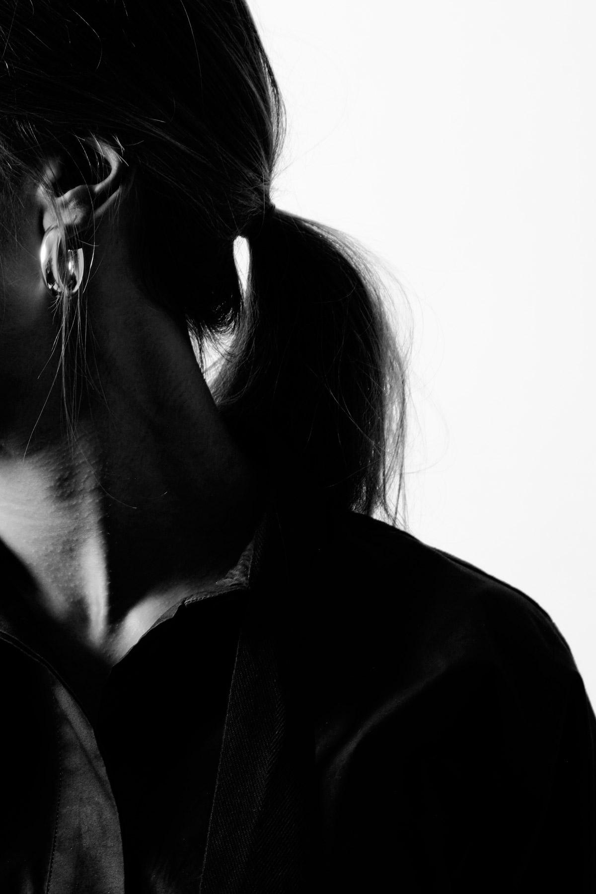 THE TUBULAR – MINI EARRINGS – TECHNO YELLOW 2