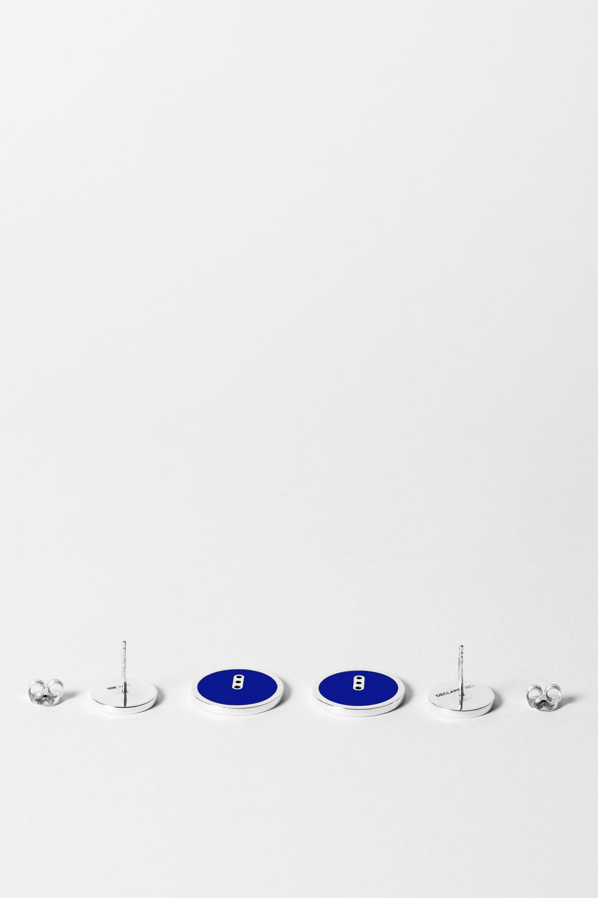 THE TWICE SOMETIMES – EARRINGS – BLUE BLUE 1