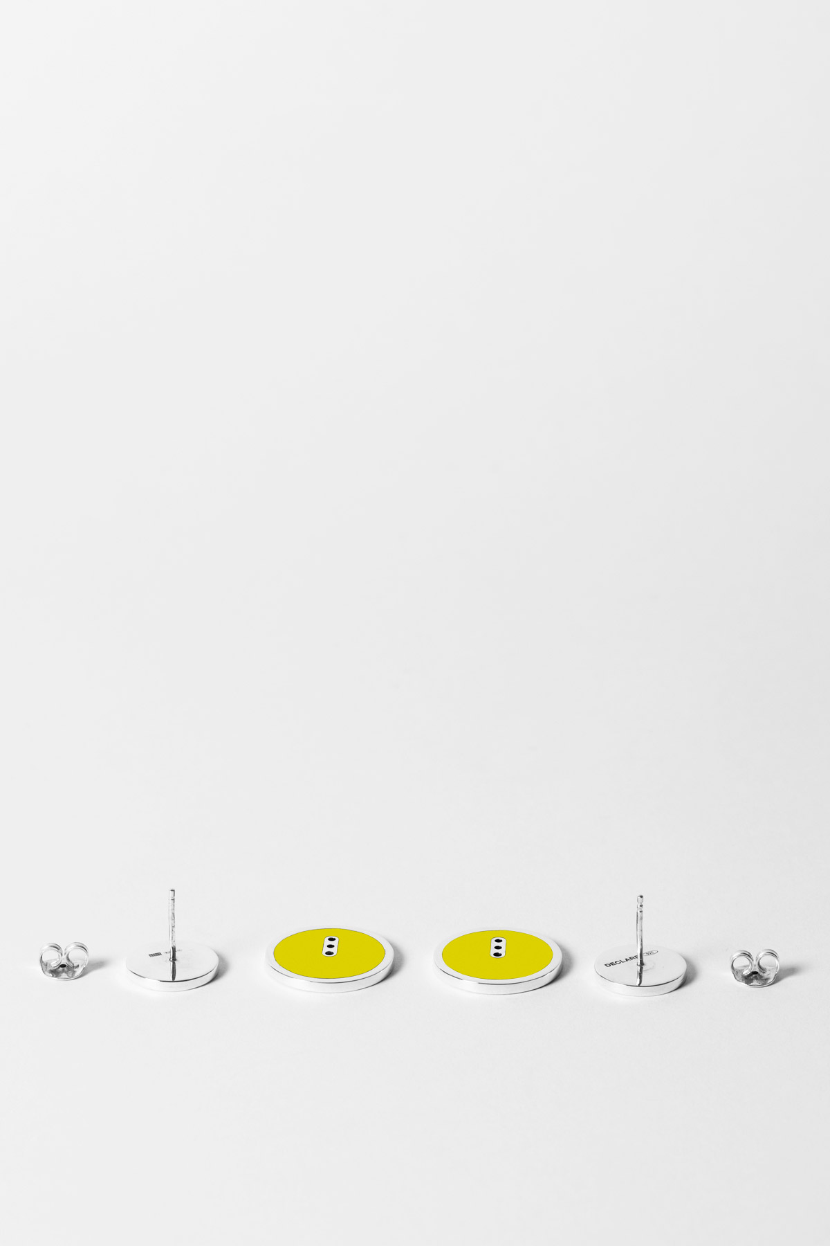 THE TWICE SOMETIMES – EARRINGS – TECHNO YELLOW 1